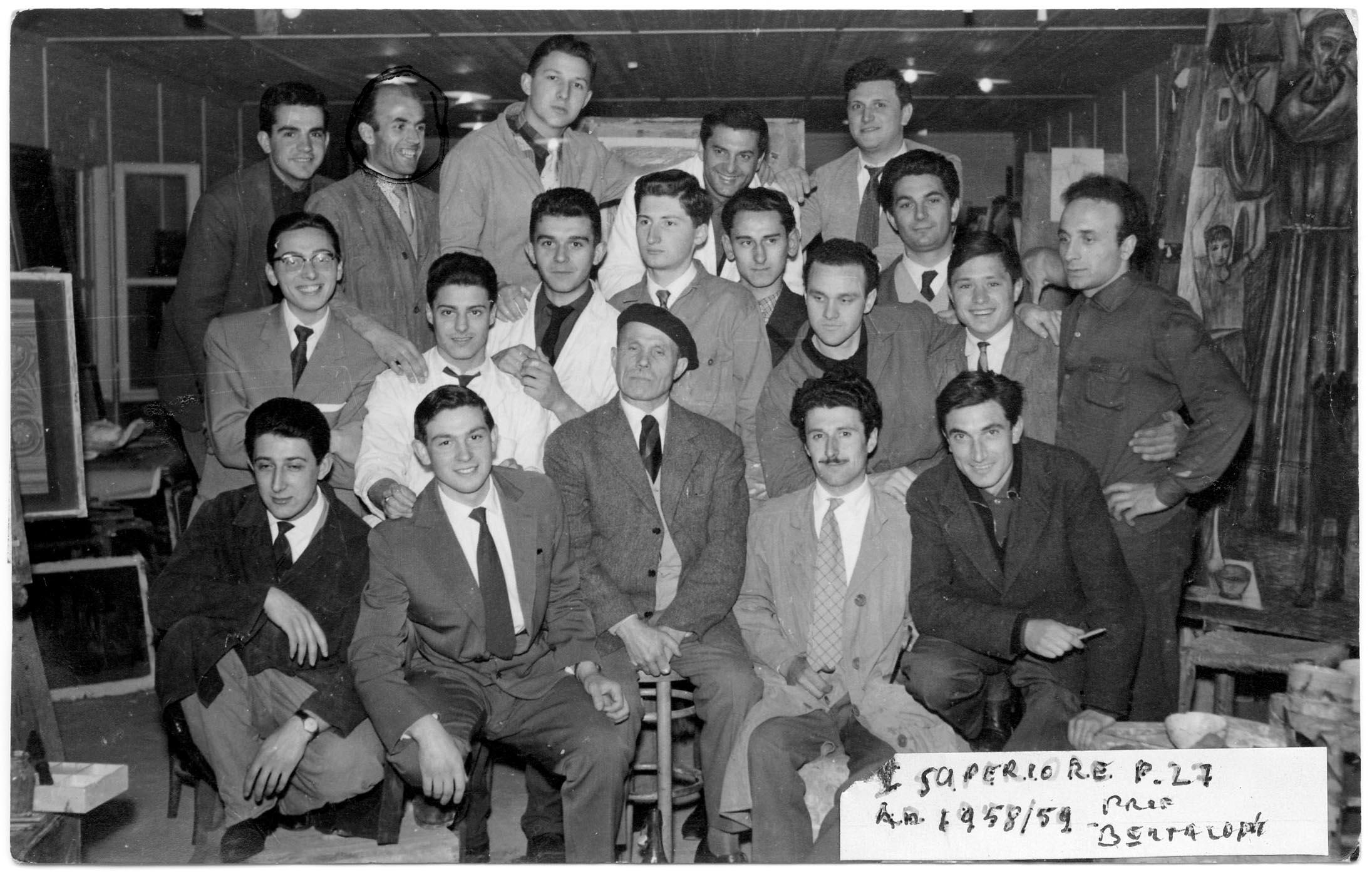 I Superiore 1959 - Prof. Bertazzoni