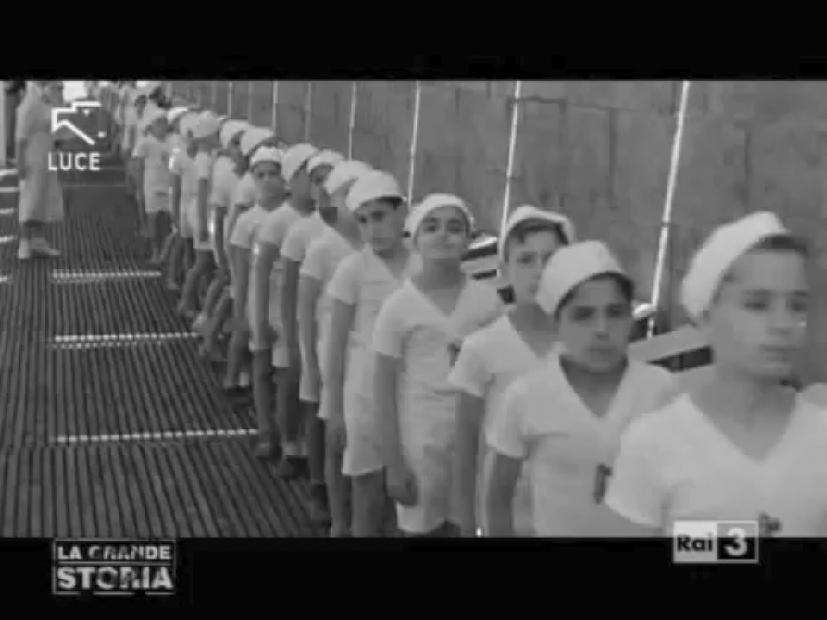 """""""Vacanze di guerra. L'odissea dei bambini italiani in Libia"""" - RAI3"""