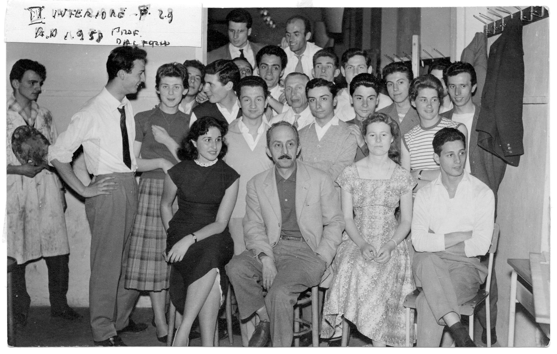 II Inferiore 1958 - Prof. Dal Forno