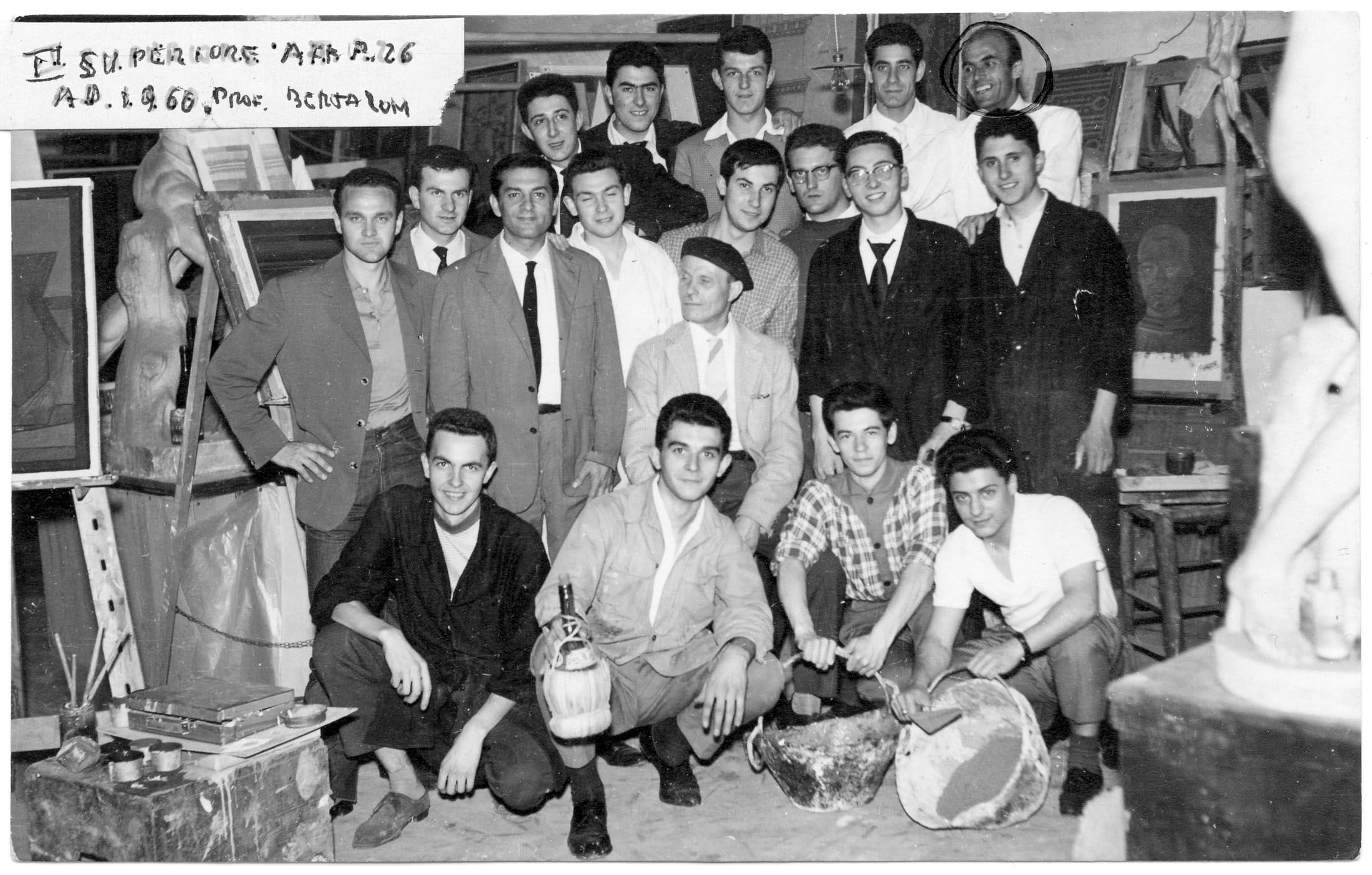 II Superiore 1960 - Prof. Bertazzoni