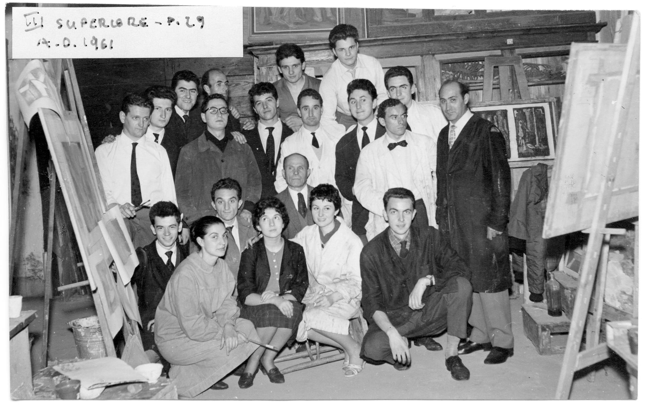 III Superiore 1961 - Prof. Bertazzoni